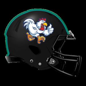 Chicken-themed fantasy football logo