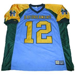 Custom-made fantasy football jersey