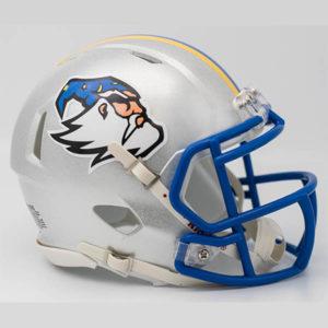 Custom-made fantasy football mini helmet